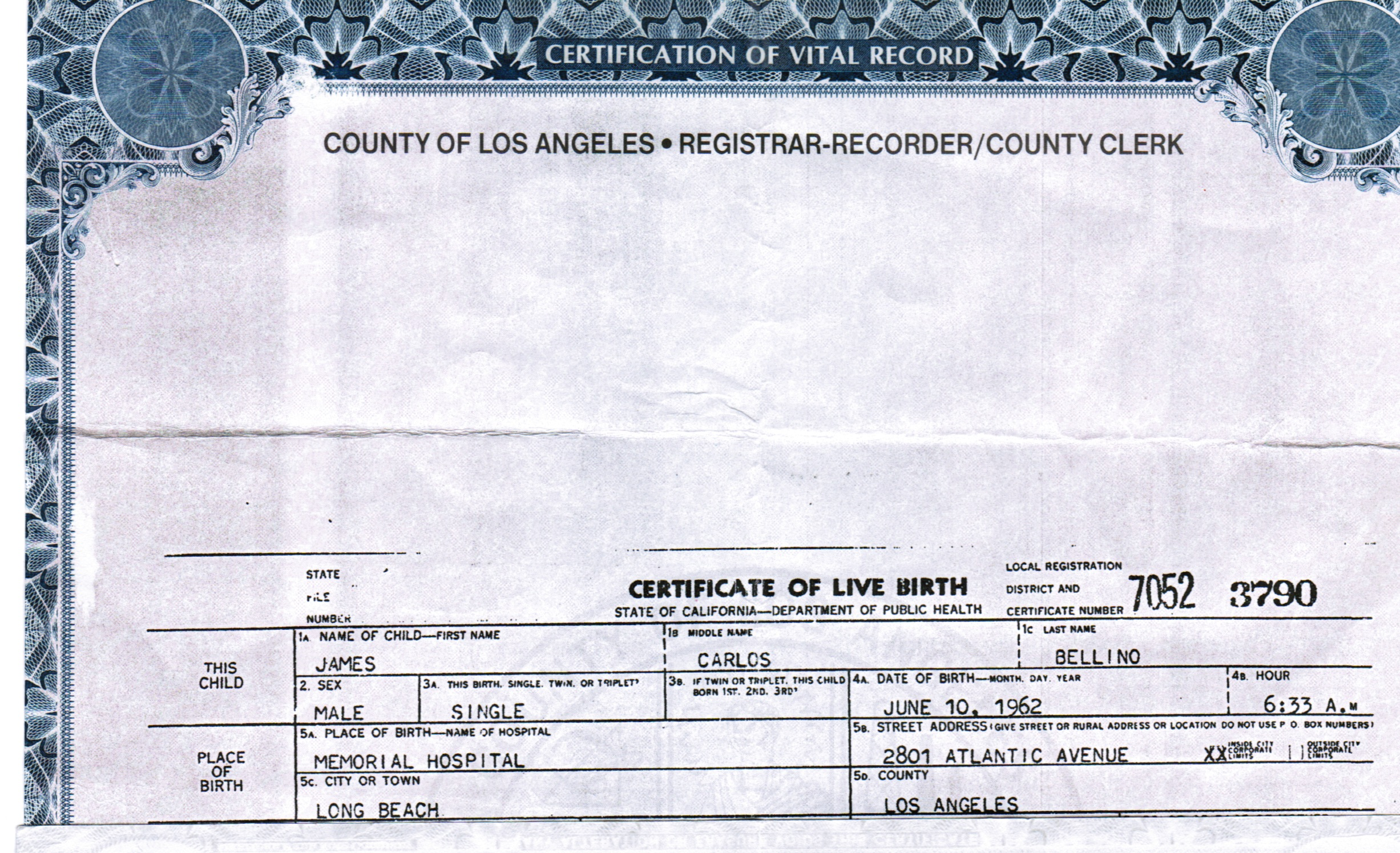 Jim bellino bio for the real truth click here jim bellino jim bellino birth certificate xflitez Images